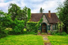 Fairytale (KPortin) Tags: house abandonedhouse fairytale ivy weathervane piercecounty highway706