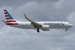 N960NN - American - Boeing 737-800 (John Klos) Tags: 33330 aal american americanairlines b737 b737800 b737823 boeing boeing737 florida johnklos kmia mia miamiinternationalairport miami n960nn nikkor80400mmf4556gvr nikon nikond7200 aircraft airline airplane aviation spotting winglets unitedstates us