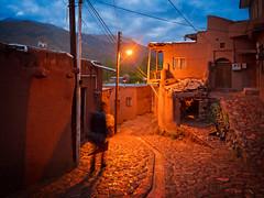 Nightfall in Abyaneh, Iran (CamelKW) Tags: 2017 iran isfahan kashan nightfall abyaneh