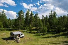 Relax nei boschi-26 ( YariGhidone ) Tags: rosso cesana lago nero claviere monti della luna van life vanlife campe furgone vita avventure adventure campfire camping wildlife wild camper