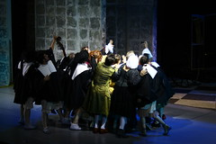 The Imaginary Invalid - Moliere (Ivan Vazov National Theatre Sofia Bulgaria) (thebigbo) Tags: imaginary invalid moliere ivan vazov national theatre sofia bulgaria performance play staging actors group selfie