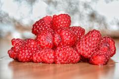 Beautiful fresh Raspberries ♥️ (MadeleineVanWijkPhotography) Tags: nikond7000 raspberries red fruit