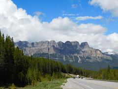 Castle Mountain (jimmywayne) Tags: alberta canada banff nationalpark mountain range landscape castlemountain