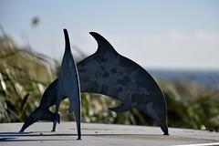 DSC_0740 (stef_thomp) Tags: manzanita oregon beach dolphins scultpure
