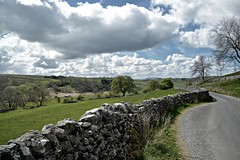 Malham (plot19) Tags: yorkshire dales england english landscape light love wall stone road uk britain british nikon north northern northwest trees photography plot19 sky clouds mood