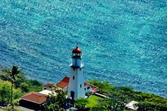 Oahu: Diamond Head Lighthouse (gerard eder) Tags: world travel reise viajes america usa unitedstates hawaii oahu honolulu diamondhead lighthouse faro leuchtturm diamondheadlighthouse pacific pacificocean pacífico outdoor blue landscape landschaft paisajes nature natur