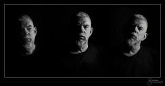 Pondering the Imponderable (M Gardner Photography) Tags: portraits blackbackground joe