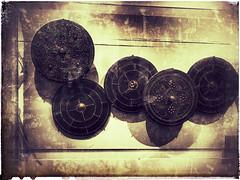 Highland Targes (FotoFling Scotland) Tags: targes shields battle jacobite museum nationalmuseum