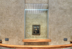 Mona Lisa (Nola Nate) Tags: monalisa louvre museum leonardodavinci painting art artwork paris france ibeauty europe hdr portrait paint