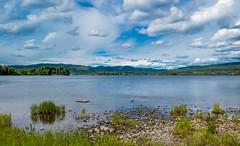Lake View (bjorbrei) Tags: lake water shore hills sky clouds brekke maridalen maridalsvannet oslo norway
