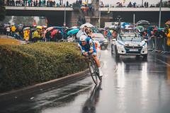feel your heart beat (victorloe) Tags: tour de france düsseldorf bike cycling rain sport action driving