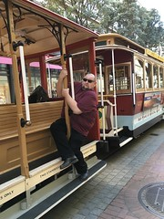 Not my finest moment... (Zunkkis) Tags: california sanfrancisco cablecar idiot