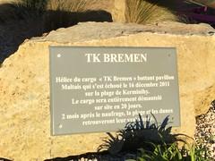 Fin du TK Bremen (nicole.rouaultroselier) Tags: erdeven cargo naufrage