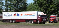 Henschel truck (Schwanzus_Longus) Tags: wilhelmshaven german germany old classic vintage truck vehicle lorry freight cargo transport semi trailer tractor box lkw laster lastwagen sattelschlepper coe cab over engine f221 f