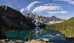 moraine lake (martinkirschner) Tags: morainelake canada kanada lakelouise
