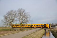 NSR 3444, Zwolle Stadshagen, 28-01-2017 (Michael Postma) Tags: nsr ns dm90 buffel zwolle stadshagen kamperlijntje 3444