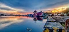 sunrise port iloilo city riverside hdr (Photo: tlchua99 on Flickr)
