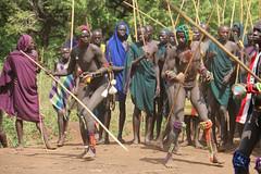 Wounded (martien van asseldonk) Tags: martienvanasseldonk ethiopia donga surma surmi stickfighting