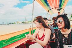 _MG_1288 (WayChen_C) Tags: thailand bangkok chaophrayariver yuting nin ประเทศไทย บางกอก กรุงเทพมหานคร แม่น้ำเจ้าพระยา 泰國 曼谷 昭披耶河 thaigraduationtrip 湄南河
