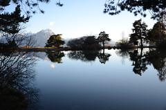 Lac de Saint-Apollinaire (RarOiseau) Tags: lac montagne hautesalpes blue bleu lemorgon saintapollinaire reflet naturebynikon v3000 lacdesaintapollinaire world100f