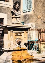 fontaine de Mollans sur Ouvèze en Drôme provençale... Reynald ARTAUD (Reynald ARTAUD) Tags: 2014 provence drôme mollanssurouvèze fontaine reynald artaud