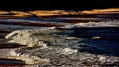 """Contemplating stillness in a sea of chaos."" (krillmerma) Tags: sea shore port elliot ocean chaos contemplation stillness"