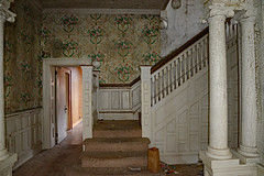 Stairway to Where? (BKHagar *Kim*) Tags: bkhagar stairs steps staircase home historical family heritage bainbridge ga georgia vintage antique ancestral dadsgrandfathershouse