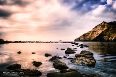 Light of the seven (Miguel Angel Lillo Fotografía) Tags: aguilas murcia sea seascape landscape light playa beach nikon tamron rocas rocks nubes clouds cloudscape miguelangellillofotografia picoftheday ngc