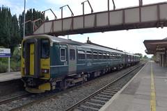 GWR 153318 & 150261 at Yatton (neiljennings51) Tags: gwr great western railway train dmu railcar class 153 yatton station somerset