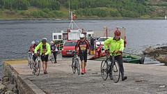Bicycle Race.. (Harleynik Rides Again.) Tags: glenelg scotland bicycle tour highlands glenachulish ferry isleofskye people harleynikridesagain
