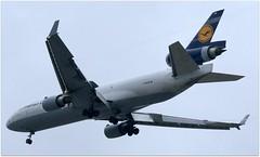 (Riik@mctr) Tags: manchester airport egcc dalcb airplane aircraft jet lufthansa mcdonnell douglas md11 msn 48782 ex n9166n