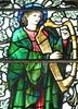 King David and harp (Granpic) Tags: staffordshire leek leekchurch allsaintsleek stainedglass vidreriadecolores vitrail artscrafts morriscolondon burnejones kingdavid