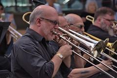 Men With Horns (swong95765) Tags: men musicians brass horns trombone music performance