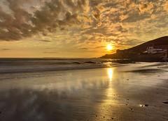 Classic Croyde sunset (leistus) Tags: croyde bay cokin nuance hd filter