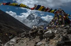 la vedette (Vacaciones Permanentes) Tags: ama dablam nepal fujifilm trekking everest base camp ebc himalaya