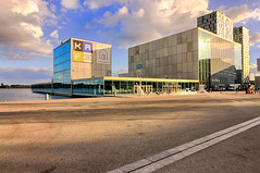 Almere city center (H. Bos) Tags: almere almerestad citycenter stadshart citymall centrum stad flevoland kaf theater theatre art kunst educatie education hdr
