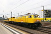 BBG 218 304-4 Kirow Eisenbahnkran, Bruchsal (michaelgoll777) Tags: db bbg br218 v160 kirow