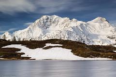 Vento sul laghetto (cesco.pb) Tags: passodelsempione simplonpass canon canoneos60d tamronsp1750mmf28xrdiiivcld switzerland svizzera alps alpi alba dawn sunrise montagna mountains