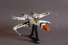 X-Wing Evolved (Sydag) Tags: lego moc starfighter space scifi starwars spacefighter ship xwing incomt65