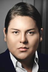 (ptr.alva) Tags: hombre man portrait retrato cara face blue azúl peteralva gente people retouch retoque