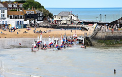 Preparing for the race (philbarnes4) Tags: sailing club competition vikingbay broadstairs thanet kent england boats dingys