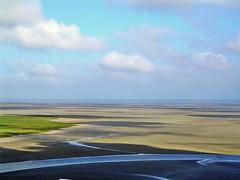 MONT SAINT MICHEL - Bassa Marea (cannuccia) Tags: paesaggi landscape francia normandia montsaintmichel spiagge astratto mare astrattismo 100commentgroup