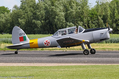G-CBJG - 1961 OGMA built De-Havilland DHC-1 Chipmunk T.20, arriving at Sturgate during the 2017 Mid Summer Fly-in (egcc) Tags: 1373 2017midsummerflyin 63 csazt chipmunk dhc1 dehavilland egcs fap gcbjg gipsymajor lightroom midsummerflyin ogma portugueseairforce rees sturgate warbird