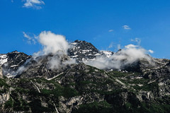 Clouds (morganelafond) Tags: clouds mountain pralognanlavanoise pralognan nuages nuage montagne alps alpes france roche bleu ciel rocheuse europe vanoise hauteur landscape paysage été sky summer
