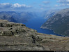 20160608_09 Fjord & mountains seen from Preikestolen, Norway (ratexla) Tags: ratexla'snorwaytrip2016 preikestolen norway 8jun2016 2016 canonpowershotsx50hs norge scandinavia scandinavian europe beautiful earth tellus photophotospicturepicturesimageimagesfotofotonbildbilder europaeuropean summer travel travelling traveling norden nordiccountries roadtrip wanderlust journey vacation holiday semester resaresor landscape nature scenery scenic ontheroad sommar norwegian fjord fjords lysefjord lysefjorden coast ocean water pulpitrock favorite gsgsgs