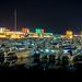 Kuwait City at Night - Souq Sharq Marina