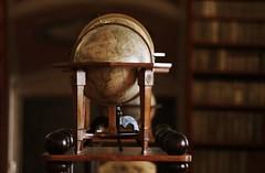 Prague, Library of Strahov Monastery (nihilnocet) Tags: canoneos700d tamronaf70300mmf456dildmacro nihilnocet prag prague praha library strahovmonastery globe map