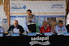 Diálogo por el Agua en Mi Perú (Sedapal Oficial) Tags: sedapal rudecindovega miperú aguapotable alcantarillado diálogoporelagua ventanilla