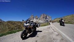 DSC07418 (Olaf Biedron) Tags: alpen fz1 yamaha fazer motorrad motobike bike alpenpass dolomiten