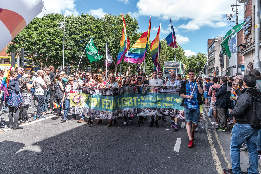 LGBTQ+ PRIDE PARADE 2017 [ON THE WAY FROM STEPHENS GREEN TO SMITHFIELD]-130125